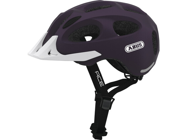 ABUS Youn-I Ace Kask rowerowy, aubergine